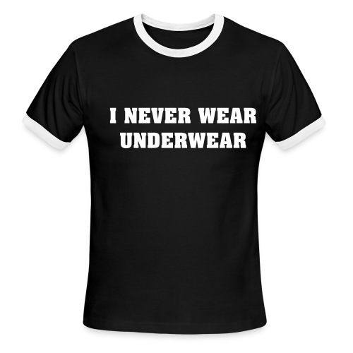 underwear - Men's Ringer T-Shirt