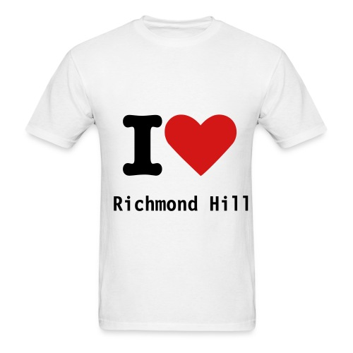 i heart richmond hill - Men's T-Shirt