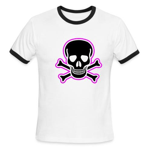 Skull & Crossbones - Men's Ringer T-Shirt