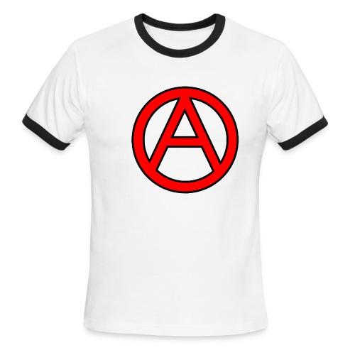 Anarchy - Men's Ringer T-Shirt