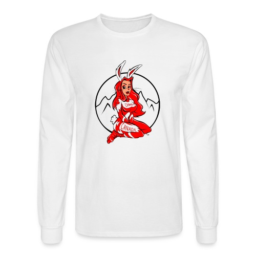 Ski Bunny - Men's Long Sleeve T-Shirt