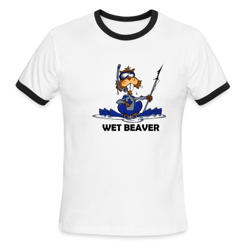 Wet Beaver - Men's Ringer T-Shirt