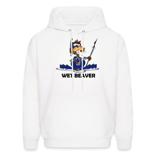 Wet Beaver - Men's Hoodie