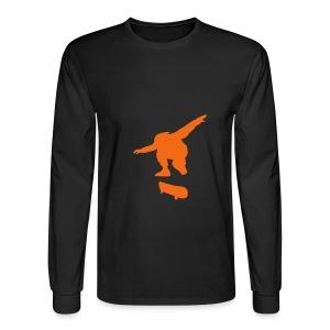 Skaters Rule - Men's Long Sleeve T-Shirt