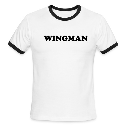 Wingman - Men's Ringer T-Shirt