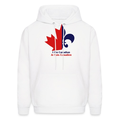 Je Suis Canadian - Men's Hoodie