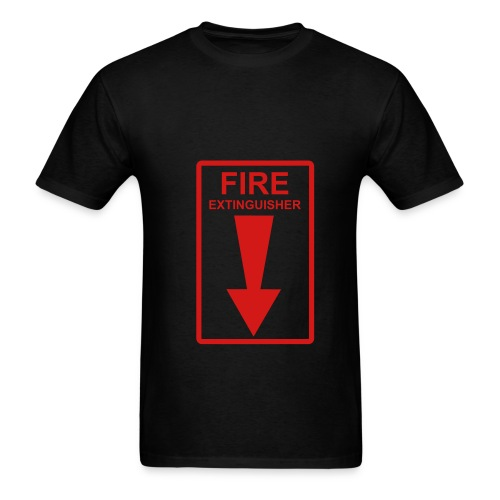 Fire Extinguisher men's tee - Men's T-Shirt