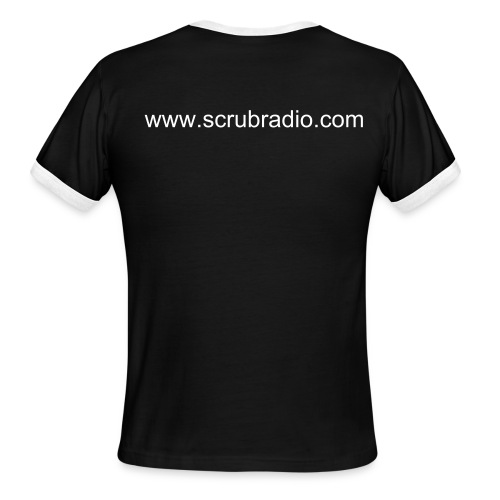 Man's Basic Scrub Radio T - Men's Ringer T-Shirt
