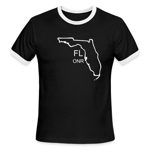 FL Black - Men's Ringer T-Shirt