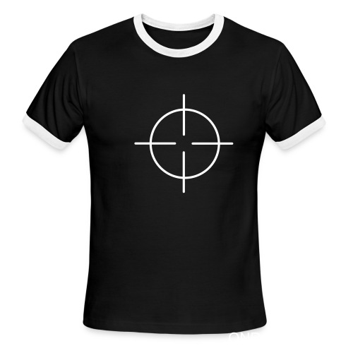 CROSS HAIIR - Men's Ringer T-Shirt