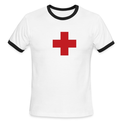 Saving souls from the lake of fire - Men's Ringer T-Shirt