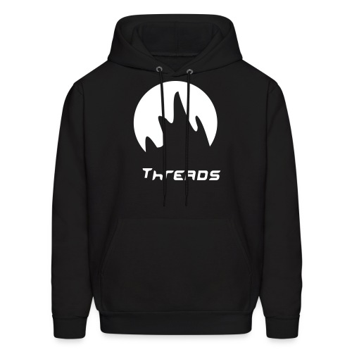 Support the kick/ass company//wear the logo be the logo - Men's Hoodie