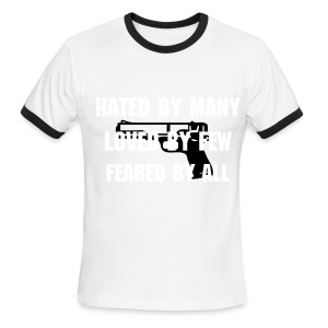 Feared By All - Men's Ringer T-Shirt