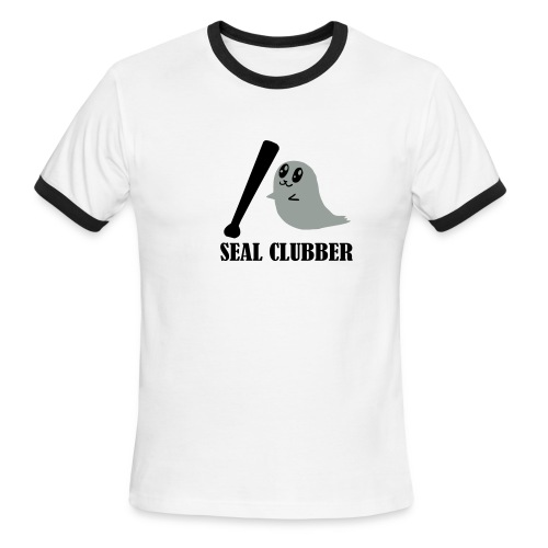 Seal Clubber - Men's Ringer T-Shirt