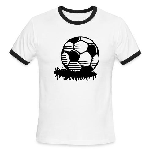 Soccer - Men's Ringer T-Shirt