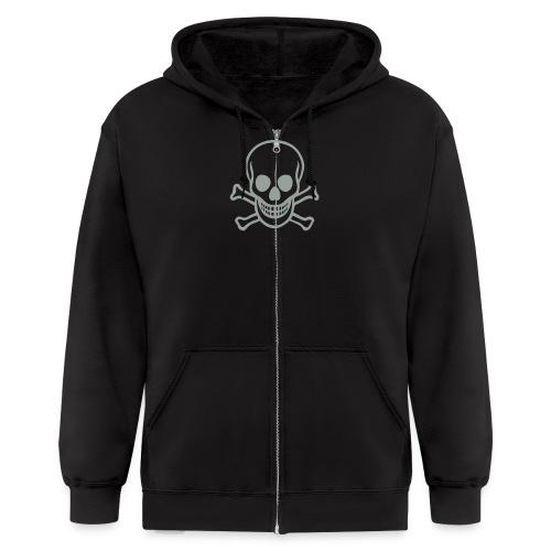 Skulls - Men's Zip Hoodie