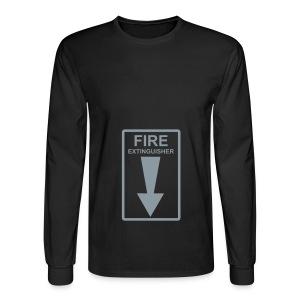 Fire Extinguisher - Men's Long Sleeve T-Shirt