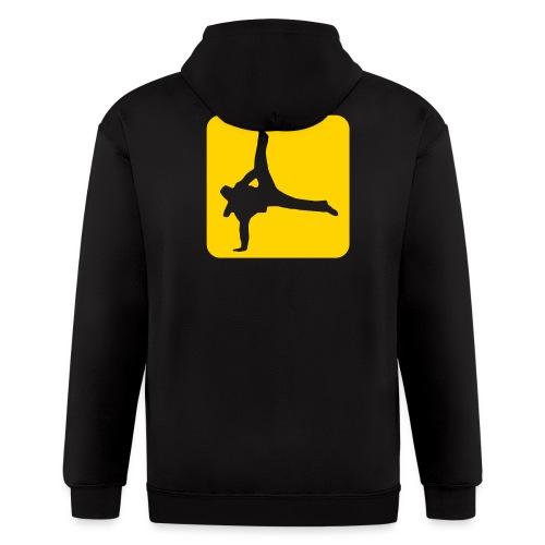Breakdance Zipper Hoodie - Men's Zip Hoodie