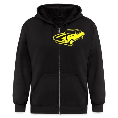 Mens zippered hoodie - Men's Zip Hoodie