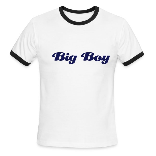 'Big Boy' Ringer Tee