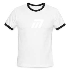 Murray Ringed T-Shirt (red & white) - Men's Ringer T-Shirt