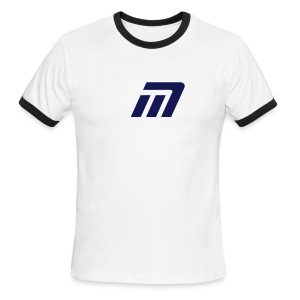 Murray Ringed T-Shirt (blue on blue) - Men's Ringer T-Shirt