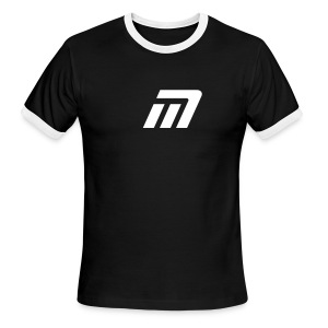 Murray Ringed T-Shirt (black & white) - Men's Ringer T-Shirt