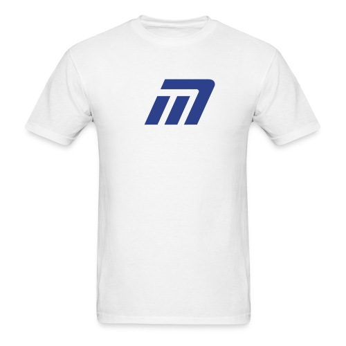 Murray T-Shirt (white & blue) - Men's T-Shirt