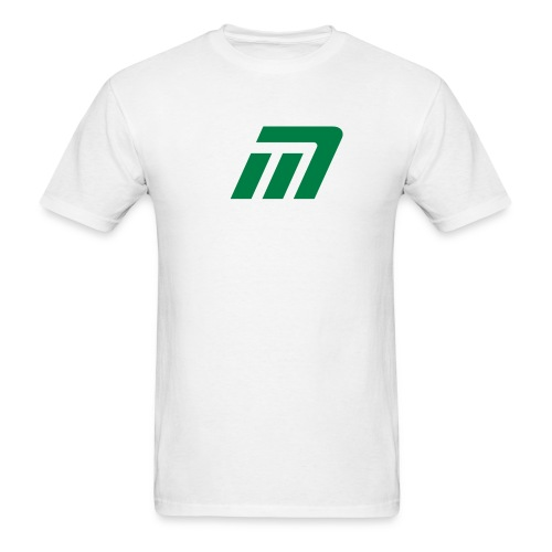 Murray T-Shirt (white & green) - Men's T-Shirt
