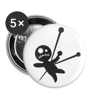 VooDoo Doll Pin - Small Buttons