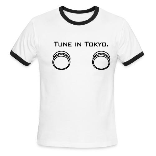 TUNE IN TOKYO - Men's Ringer T-Shirt