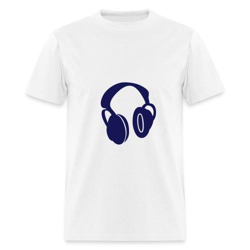 HeadPhones - short - Men's T-Shirt