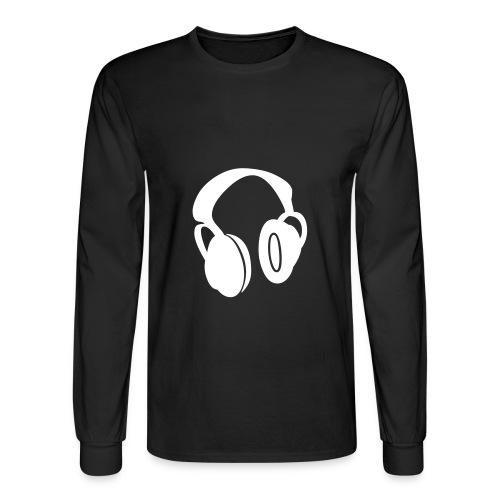 HeadPhones - Men's Long Sleeve T-Shirt