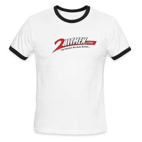 2HITMEN.COM - Men's Ringer T-Shirt