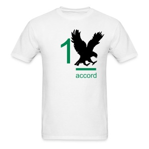 Men's T-Shirt - Adam Armstrong and 1 accord with the freedom bird