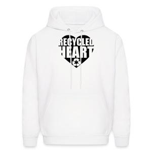 Recycled Heart - Men's Hoodie