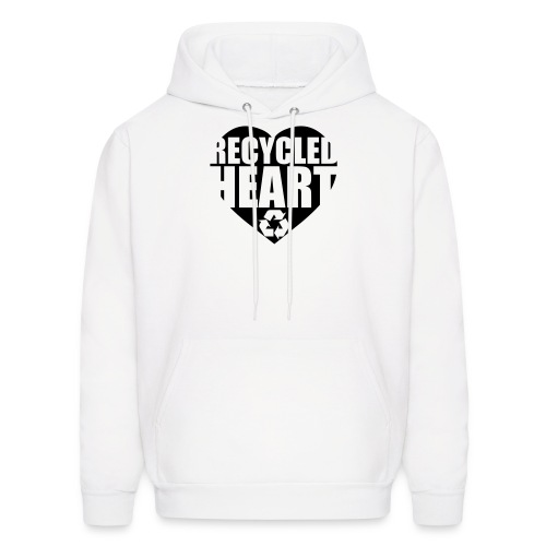 Recycled Heart - Men's Hoodie