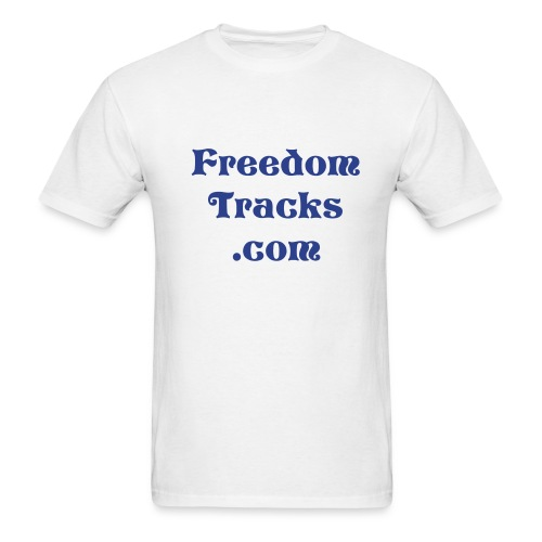 Freedom Tracks T-Shirt - Men's T-Shirt