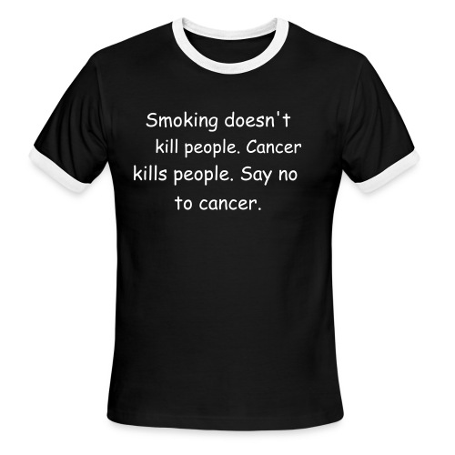 Cancer - Men's Ringer T-Shirt