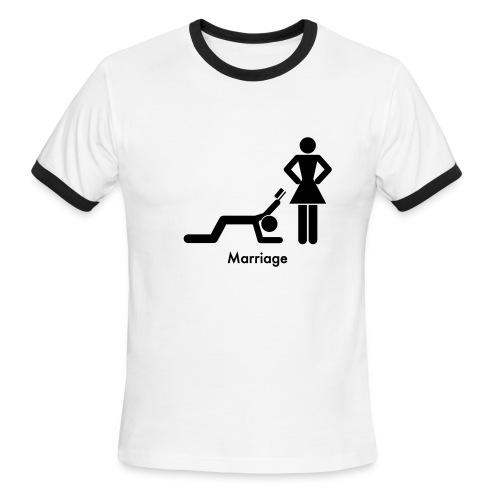the truth - Men's Ringer T-Shirt
