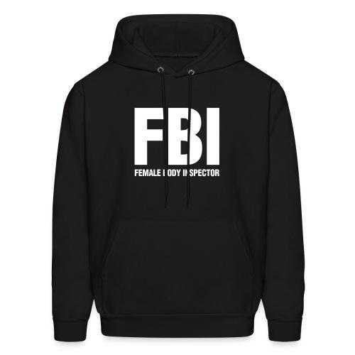 FBI - Black - Men's Hoodie