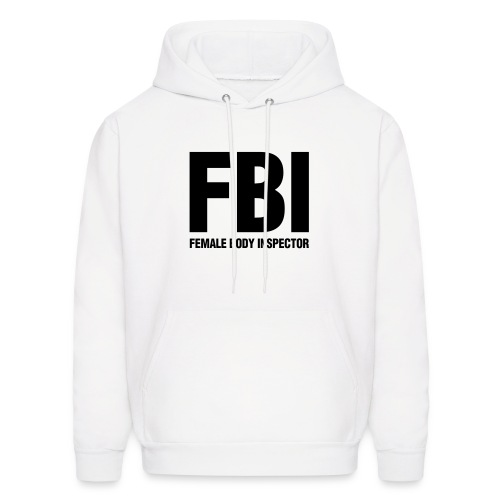 FBI - White - Men's Hoodie