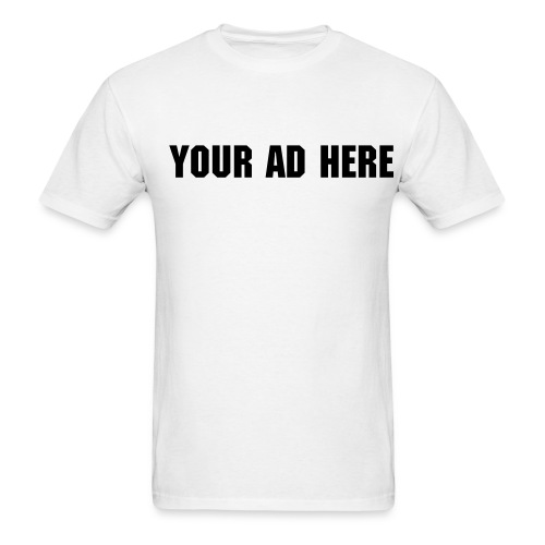Sell your space - Men's T-Shirt