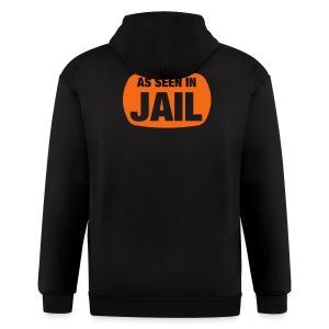 jail - Men's Zip Hoodie