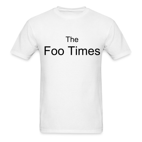 Foo Times Plain T - Men's T-Shirt