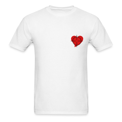 Shot to the heart Male - Men's T-Shirt
