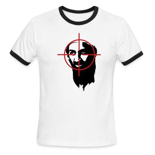 Bin Laden in Scope Ringer T-Shirt - Men's Ringer T-Shirt