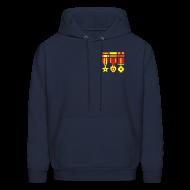 Hoodies ~ Men's Hoodie ~ [medals]