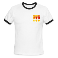 T-Shirts ~ Men's Ringer T-Shirt ~ [medals]