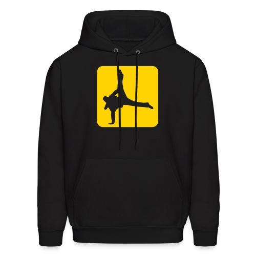 Breakdancer Hoodie - Men's Hoodie